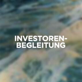 Investoren Begleitung